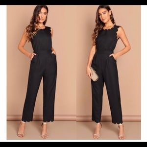 Super Chic Black Jumpsuit